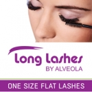 Let's try our new one size Flat lashes!