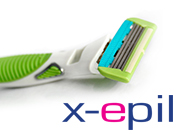 X-Epil Refillable razor for women